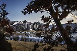 February 13, 2018 - Stockholm, Sweden - OS 2018 i Pyeongchang. Hotell intercontinental, exteriör (Credit Image: © Orre Pontus/Aftonbladet/IBL via ZUMA Wire)