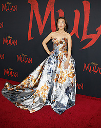 Ming-Na Wen at the World premiere of Disney's 'Mulan' held at the Dolby Theatre in Hollywood, USA on March 9, 2020.