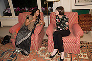 TAVLEEN SINGH; ( MOTHER OF THE AUTHOR)  MARGUERITE LITTMAN, Aatish Taseer  book launch party for his new book Stranger To History. Travel book asks what it means to be a Muslim in the 21st century. Hosted by Gillon Aitken. Kensington, London. 30 March 2009