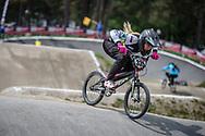 #335 (ARISTIZABAL ARISTIZABAL Susana) COL during practice at Round 5 of the 2018 UCI BMX Superscross World Cup in Zolder, Belgium