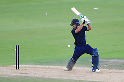 South's Matt Dixon is clean bowled during the 100 Ball Trial match at Trent Bridge, Nottingham.