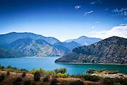 Pyramid Lake and the San Emigdio Mountains