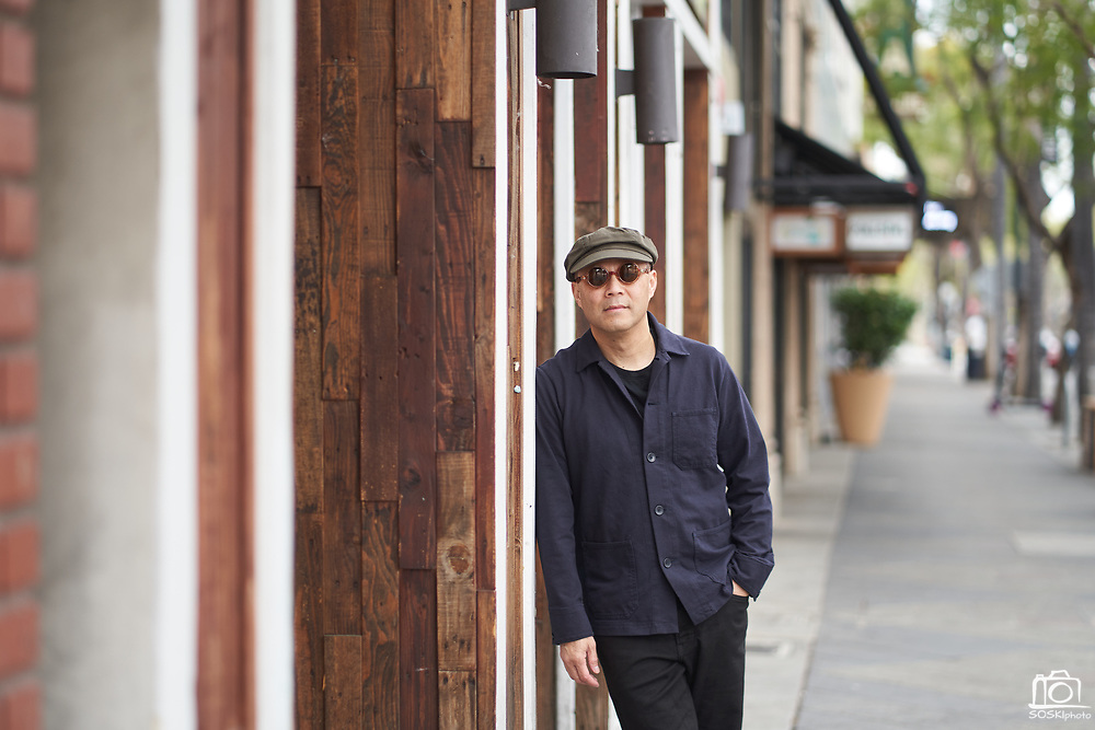 Jonathan Fung poses for a portrait in San Jose, California, on March 21, 2020. (Stan Olszewski for Content Magazine)