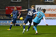 GOAL 0-2 Euan Henderson (#31) of Heart of Midlothian FC scores Hearts second goal during the SPFL Championship match between Raith Rovers and Heart of Midlothian at Stark's Park, Kirkcaldy, Scotland on 30 April 2021.