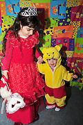 Israel, Purim celebration in an Israeli kindergarten