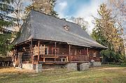 Orawski Park Etnograficzny w Zubrzycy Górnej, chałupa Dziubka ze wsi Jabłonka z 1839 r.