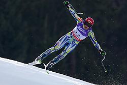 12.02.2011, Kandahar, Garmisch Partenkirchen, GER, FIS Alpin Ski WM 2011, GAP, Herren Abfahrt, im Bild Andrej Sporn (SLO) takes to the air competing in the men's downhill race on the Kandahar race piste at the 2011 Alpine skiing World Championships, EXPA Pictures © 2010, PhotoCredit: EXPA/ M. Gunn
