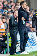 Rochdale caretaker manager Brian Barry-Murphy shouts instructions during the EFL Sky Bet League 1 match between Gillingham and Rochdale at the MEMS Priestfield Stadium, Gillingham, England on 30 March 2019.