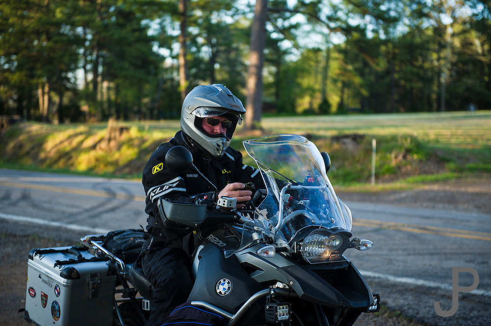 Motorcycle ride Chasing Dragons for Roadrunner Magazine riding with Bill Dragoo through the mountains of Oklahoma, Missouri and Arkansas.