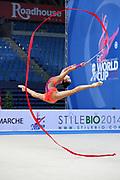Sakura Hayakawa was born 17 March 1997 in Osaka, Japan is a Japanese individual rhythmic gymnast.