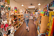 Sarah Firstenburg opened Clover Toys ten years ago in the Ballard neighborhood of Seattle, Wa.