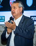 Paolo Barelli Presidente FIN<br /> Presentazione Campionato Italiano Pallanuoto 2019-2020<br /> Federazione Italiana Nuoto FIN<br /> Foro Italico Sala conferenze 03/10/2019<br /> Photo © Deepbluemedia