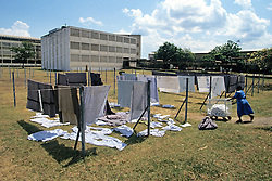 Drying Laundry, Nyanza Provincial General Hospital
