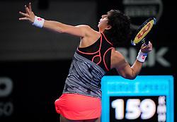December 31, 2018 - Brisbane, AUSTRALIA - Carla Suarez Navarro of Spain in action during her first-round match at the 2019 Brisbane International WTA Premier tennis tournament (Credit Image: © AFP7 via ZUMA Wire)