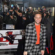 Olly Murs attend Johnny English Strikes Again at CURZON MAYFAIR, London, Uk. 3 October 2018.
