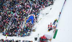 05.02.2017, Heini Klopfer Skiflugschanze, Oberstdorf, GER, FIS Weltcup Ski Sprung, Oberstdorf, Skifliegen, im Bild Michael Hayboeck (AUT) // Michael Hayboeck of Austria during mens FIS Ski Flying World Cup at the Heini Klopfer Skiflugschanze in Oberstdorf, Germany on 2017/02/05. EXPA Pictures © 2017, PhotoCredit: EXPA/ Peter Rinderer
