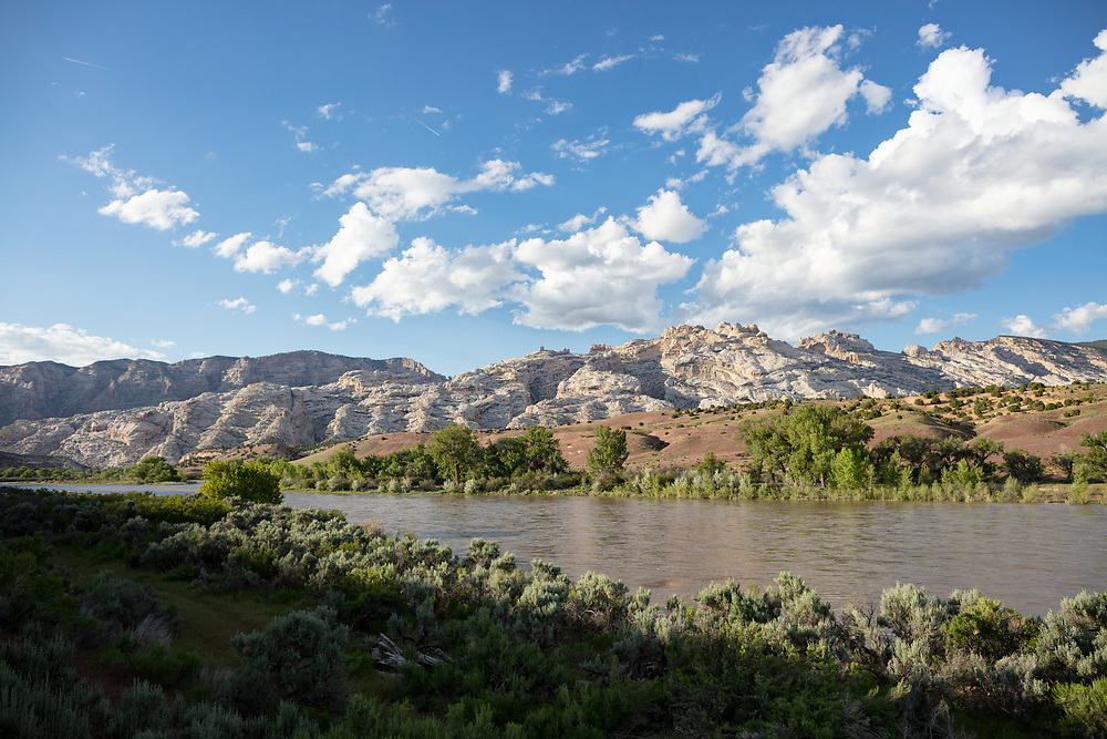 Green River from River Trail in DInosaur National Monument in Utah