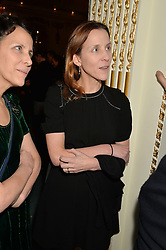 KATE FALL at a party to celebrate the publication of The Romanovs 1613-1918 by Simon Sebag-Montefiore held at The Mandarin Oriental, 66 Knightsbridge, London on 2nd February 2016.
