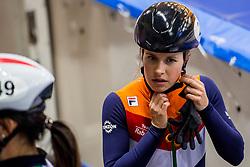 14-01-2018 DUI: ISU European Short Track Championships 2018 day 3, Dresden<br /> Yara van Kerkhof NED #21
