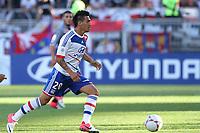 FOOTBALL - FRENCH CHAMPIONSHIP 2012/2013 - L1 - OLYMPIQUE LYONNAIS v AC AJACCIO - 16/09/2012 - PHOTO EDDY LEMAISTRE / DPPI - LUCIANO MONZON (OL)
