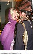 Jibby Beane & Judy Blame,  Duckworth Centenary Dinner. Dorchester, London 14/10/98<br />© Copyright Photograph by Dafydd Jones<br />66 Stockwell Park Rd. London SW9 0DA<br />Tel 0171 733 0108