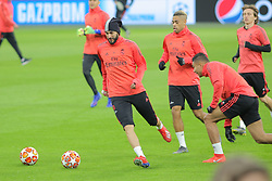 February 12, 2019 - Amsterdam, Netherlands - Real Madrid CF forward Karim Benzema pictured during a training before UEFA Champions League match playoff 1/8 finals game between Ajax Amsterdam and Real Madrid at Johan Cruyff Arena on February 12, 2019 in Amsterdam, Netherlands. (Credit Image: © Federico Guerra Moran/NurPhoto via ZUMA Press)