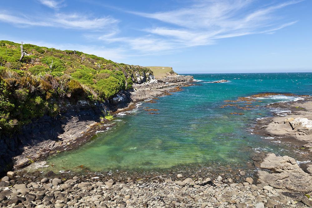 Beach along Te Rere Reserve, Catlins