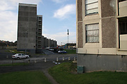 Ballymun flats knocked down May 2007 *** Local Caption *** Copyright and Related Rights Act, 2000.<br />