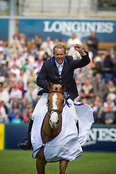 Funnell William (GBR) - Kanelle de la Baie<br /> Winner Derby de la Region des Pays de la Loire<br /> CSIO La Baule 2011<br /> © Dirk Caremans