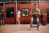 Conor McGregor TUF Gym Workout