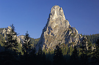 Bicaz Gorges and Mt. Altarului, Cheile Bicazului-Hasmas National Park, Carpathians, Transylvania, Romania,