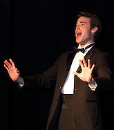 Senior Senior Patrick Ross sings the best of Broadway during a dress rehearsal before the 13th Annual ArtsGala at Wright State University's Creative Arts Center, Saturday, March 31, 2012.