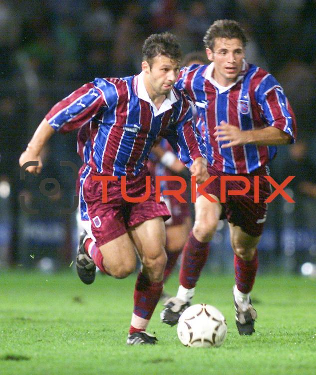 Turkish soccer...<br /> Turkish soccer super league team Trabzonspor's Gokdeniz Karadeniz. <br /> Photo by Aykut AKICI/TurkSporFoto