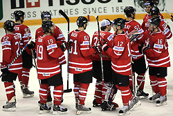 Team Canada at ice-hockey game Canada vs Germany in Qualifying Round Group F, at IIHF WC 2008 in Halifax,  on May 10, 2008 in Metro Center, Halifax, Nova Scotia,Canada. Canada won 11:1. (Photo by Vid Ponikvar / Sportal Images)