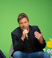 DEU, Deutschland, Germany, Berlin, 24.11.2018: Robert Habeck, Co-chair Alliance 90 / The Greens. Council of the European Green Party (EGP council) at Deutsche Telekom Representative Office.