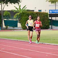 B Div Girls 1500m Walk