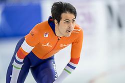 11-12-2016 NED: ISU World Cup Speed Skating, Heerenveen<br /> Kai Verbij op de 1000 m