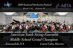 2020 ASTA National Orchestra Festival Orladndo Florida