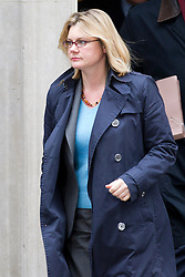 © Licensed to London News Pictures. 07/01/2013. London, UK. The International Development Secretary Justine Greening is seen on Downing Street in London today (07/01/13) after attending the first cabinet meeting of 2013. Photo credit: Matt Cetti-Roberts/LNP