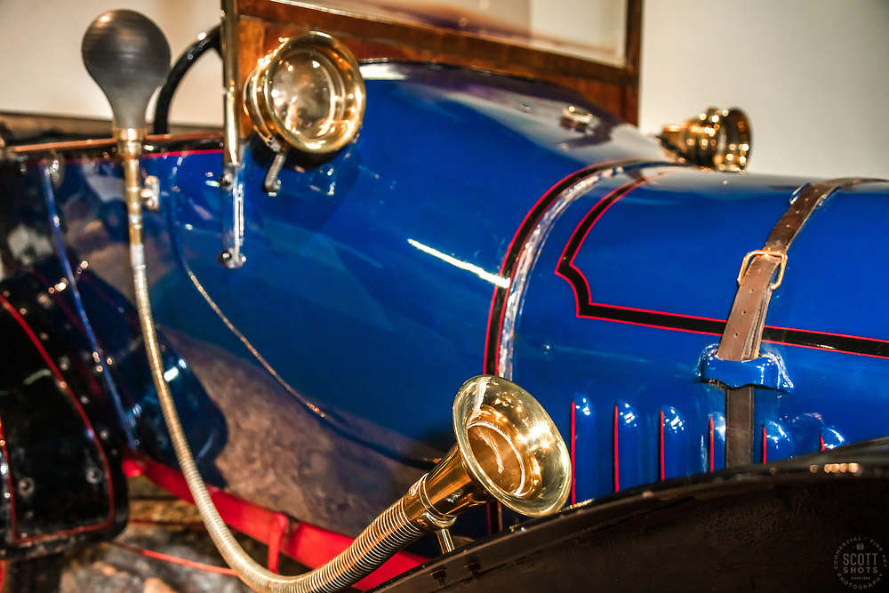 """""""Parts From The Past 14"""" - Abstract photograph of automobile parts, shot with special permission at the National Automobile Museum in Reno, Nevada. <br /> <br /> Available as prints but not as stock photography."""