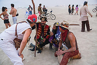 One of the best parts of Burning Man culture is the conversations you have with people you don't normally get to hang with. I learn so much out there every year. There are so many people who are just downright smarter and better than me as humans. I try to learn from them. - https://Duncan.co/Burning-Man-2021