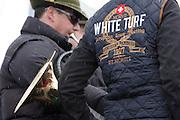 White Turf 2011 horse  racing event in St Moritz, Switzerland.