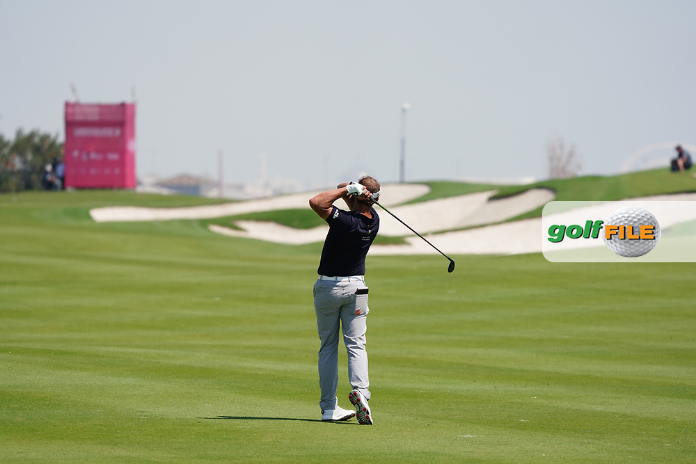 Joost Luiten (NED) on the 2nd during Round 2 of the Commercial Bank Qatar Masters 2020 at the Education City Golf Club, Doha, Qatar . 06/03/2020<br /> Picture: Golffile   Thos Caffrey<br /> <br /> <br /> All photo usage must carry mandatory copyright credit (© Golffile   Thos Caffrey)