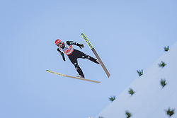 28.02.2021, Oberstdorf, GER, FIS Weltmeisterschaften Ski Nordisch, Oberstdorf 2021, Mixed Teambewerb, Skisprung HS106, im Bild Markus Eisenbichler (GER) // Markus Eisenbichler of Germany during the ski jumping HS106 mixed team competition of FIS Nordic Ski World Championships 2021 in Oberstdorf, Germany on 2021/02/28. EXPA Pictures © 2021, PhotoCredit: EXPA/ JFK