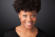 University of Michigan Student Actor Headshot