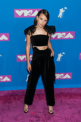 August 21, 2018 - New York City, New York, USA - 8/20/18.Millie Bobby Brown at the 2018 MTV Video Music Awards at Radio City Music Hall in New York City. (Credit Image: © Starmax/Newscom via ZUMA Press)