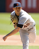 CHICAGO - APRIL 28:  Matthew Boyd #48 of the Detroit Tigers pitches against the Chicago White Sox on April 28, 2019 at Guaranteed Rate Field in Chicago, Illinois.  (Photo by Ron Vesely)  Subject:   Matthew Boyd