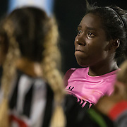 11/3/16-6:52:34 PM Cal State Northridge Goalkeeper Jovani McCaskill is emotional after their lost to Long Beach State during the Big West Tournament semifinals. 11/3/16-6:53:20 PM