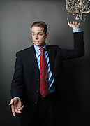 Corporate portrait of Chad Ireton. Photographed by editorial and commercial Houston photographer Nathan Lindstrom