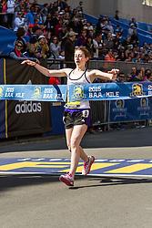 Boston Marathon: BAA Middle School 1000 meters, Abigail Fischer